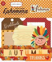 Carta Bella - Ephemera Frames & Tags Cardstock Die-cuts - Autumn (CBATM57024)