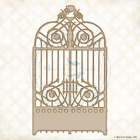 Blue Fern Studios - Chipboard - Swan Gate (118876)