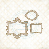 Blue Fern Studios - Chipboard - Classic Mini Frames (851582)