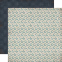 """Carta Bella - Double -Sided Cardstock 12""""x12"""" - Old World Travel - Globes (CBOWT53004)"""