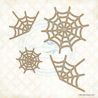 Blue Fern Studios - Chipboard - Cobwebs (274299)