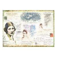 Prima - Finnabair - Tissue Paper - Carte Postale (967178)