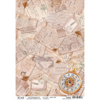 Ciao Bella Collection - Travel Memories - Decoupage Rice Paper Sheet (CBR004)