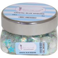 Dress My Crafts - Sequins - Crystal Blue (568279)