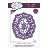 Creative Expressions - Sue Wilson Craft Dies - Frames & Tags - Avery (CED4364)