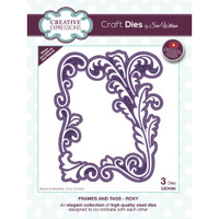 Creative Expressions - Sue Wilson Craft Dies - Frames & Tags - Roxy (CED4366)