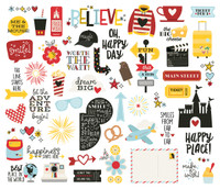 Simple Stories - Bits & Pieces Die-Cuts - (54 pieces) - Say Cheese 4 (SAY10538)