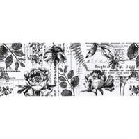 "Tim Holtz - Idea-Ology - Collage Paper 6""X6 yds - Botanical ( TH93705)"