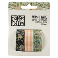 Simple Stories - Washi Tape 3/Pkg - Spring Farmhouse (PRF10600)