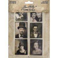 Tim Holtz - Idea-Ology - Photobooth Vintage Photo Strips (TH93799)