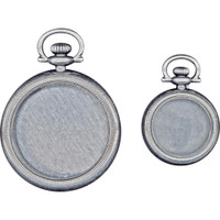 Tim Holtz - Idea-Ology - Metal Pocket Watches (TH93960)