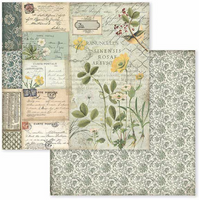 Stamperia - Double-Sided Cardstock Collection 12x12 - Spring Botanic ( SBBL50)
