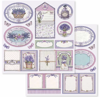 Stamperia - Double-Sided Cardstock Collection 12x12 - Provence (SBBL51)