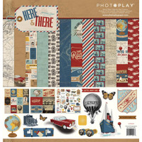 "PhotoPlay - Collection Pack 12""X12"" - Here & There (HAT9296)"
