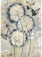 Stamperia - Decoupage Rice Paper A4 - Blowing In The Wind (DFSA4374)