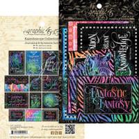 Graphic 45 - Ephemera Cards - Kaleidoscope (G4501861)