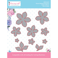 "Dress My Crafts - Die-Cuts - Create A Flower .67 To 2.55"" (DMCD1639)"