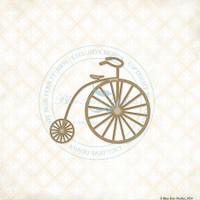 Blue Fern Studios - Chipboard - Penny Farthing (274053)