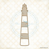 Blue Fern Studios - Chipboard - Large Lighthouse (650068)