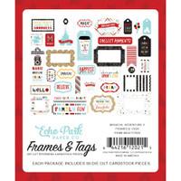 Echo Park - Frames and Tags 33/Pkg - Magical Adventure 2 (MAG177025)