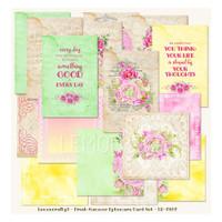 LemonCraft - Ephemera Cards - Fresh Summer (LD-FS02)