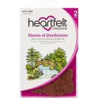 Heartfelt Creations - Cling Rubber Stamp Set - Haven Of Daydreams (HCPC3869)