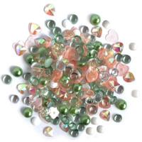 28 Lilac Lane / Buttons Galore : Sparkletz Embellishment Pack 10g - Cactus (SPK - 102)