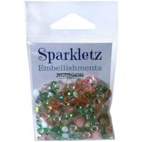 28 Lilac Lane / Buttons Galore : Sparkletz Embellishment Pack 10g - Cactus