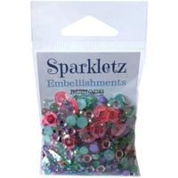 28 Lilac Lane / Buttons Galore : Sparkletz Embellishment Pack 10g - Mermaid (SPK - 104)