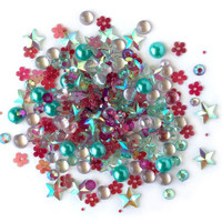 28 Lilac Lane / Buttons Galore : Sparkletz Embellishment Pack 10g - Aloha (SPK - 107)