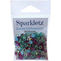 28 Lilac Lane / Buttons Galore : Sparkletz Embellishment Pack 10g - Aloha