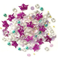 28 Lilac Lane / Buttons Galore : Sparkletz Embellishment Pack 10g - Princess Dreams (SPK - 131)