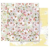 Prima - Double sided 12x12 Cardstock Paper - Fruit Paradise - Blooming Season (849153)