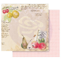 Prima - Double sided 12x12 Cardstock Paper - Fruit Paradise - Sweet and Citrus (849139)
