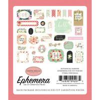 Carta Bella - Ephemera 33/Pkg - Botanical Garden (BO98024)
