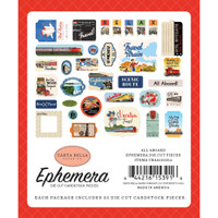 Carta Bella - Ephemera Icons 33/Pkg - All Aboard (AA101024)