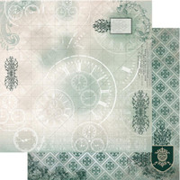 "Couture Creations - Gentleman's Emporium - Double-Sided Paper 12""X12"" - No3 (CO726816)"