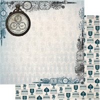 "Copy of Couture Creations - Gentleman's Emporium - Double-Sided Paper 12""X12"" - No5 (CO726818)"