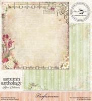 Blue Fern Studio - Autumn Anthology 12x12 dbl sided paper - Parfumerie (074325)