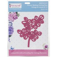 Dress My Crafts - Flower Making - Foliage & Leaves #12 (DMCD2167)