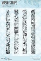 Blue Fern Studios - Clear Stamp - Washi Strips (150272)