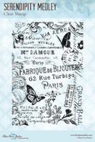 Blue Fern Studios - Clear Stamp - Serendipity Medley (117879)