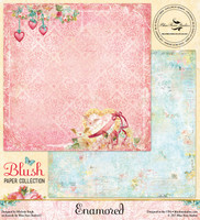 Blue Fern Studios - Blush - Scrapbooking Paper 12x12 - Enamored (105678)