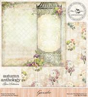 Blue Fern Studio - Autumn Anthology 12x12 dbl sided paper - Gazebo (074394)