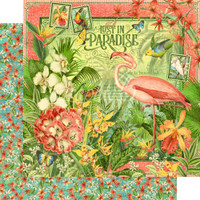 Graphic 45 - 8x8 Paper Pad - Lost In Paradise (G4501892)