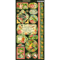 Graphic 45 - Stickers 6x12 - Lost In Paradise (G4501896)