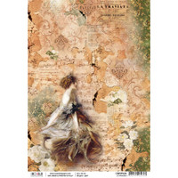 Ciao Bella - Decoupage Rice Paper Sheet - La Traviata Collection - La Traviata (CBRP026)