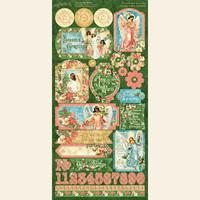 Graphic 45 - 12x12 Sticker Sheet- Joy To The World (4501913)