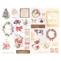Prima Marketing - Chipboard Stickers 29/Pkg - Christmas In The Country (995331)