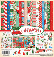 Carta Bella - Double Sided Cardstock Collection Kit 12x12 - A Very Merry Christmas (CBVMC72016)